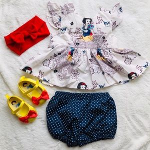 Other - 🍎 Snow White Baby girl outfit ❤️